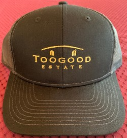 Black/Gold Trucker Hat